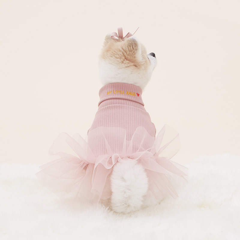 little angel dress_pink