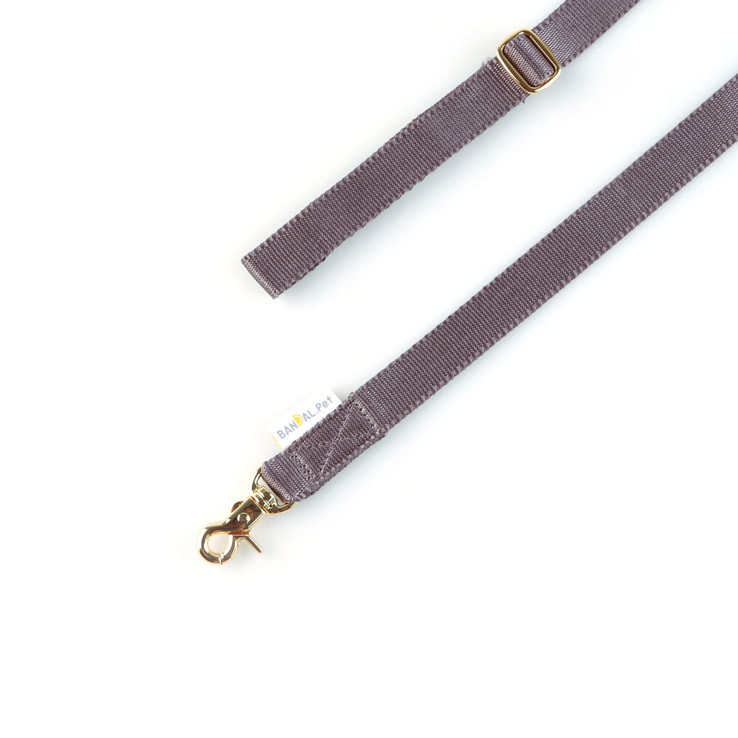 All day Leash_dark gray