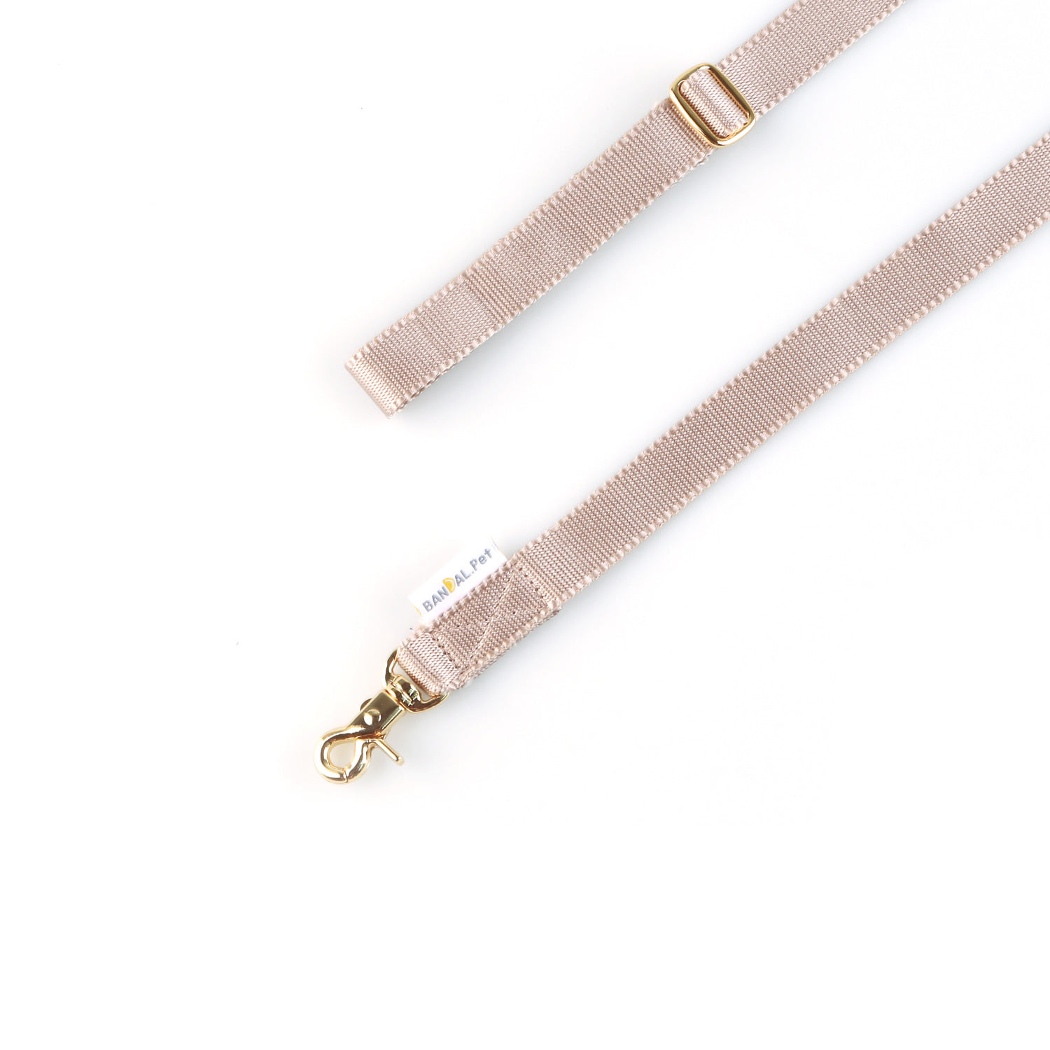 All day Leash_sand beige