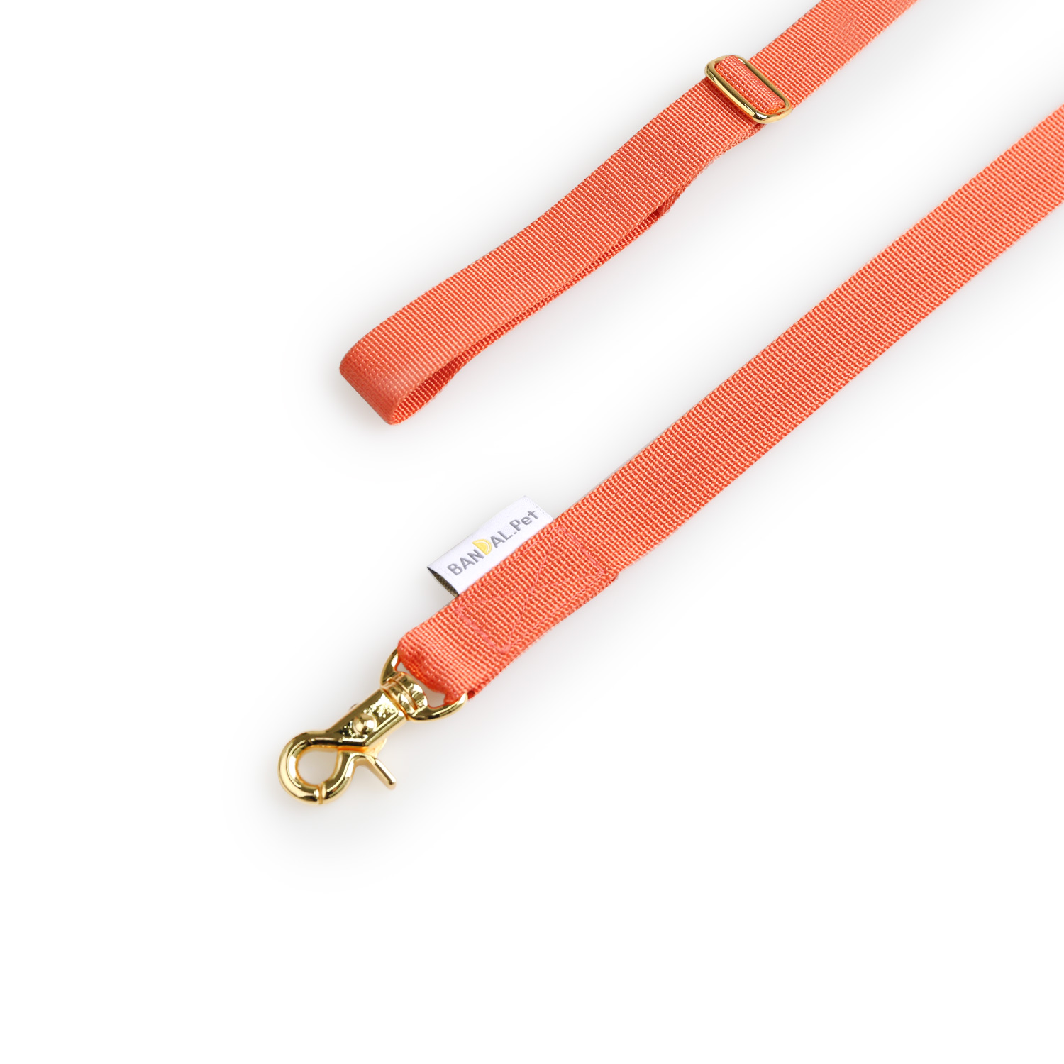 All day Leash_cherry red
