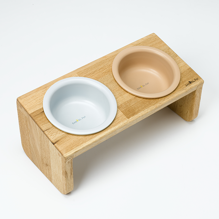 [OAK WOOD+MILK BOWL set] 미디움2구 40% 할인
